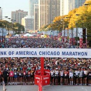 Chicago Marathon 2017 start