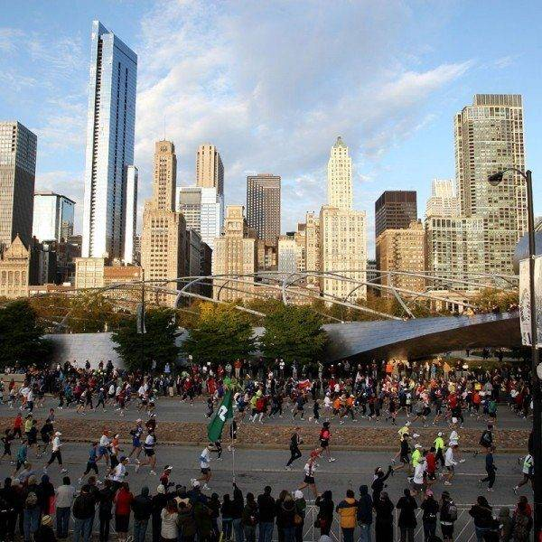 Bank of America Chicago Marathon 2019 Millenium Park