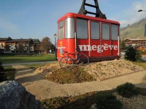 Megeve cable car at the Etape