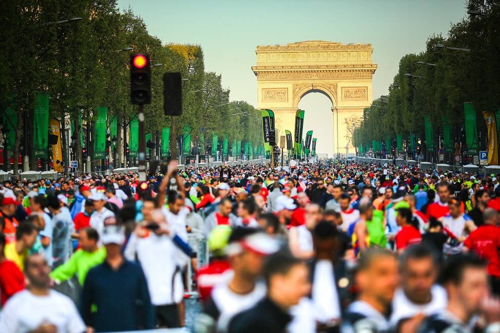 Paris Marathon start1