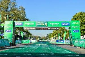 Paris Marathon finish