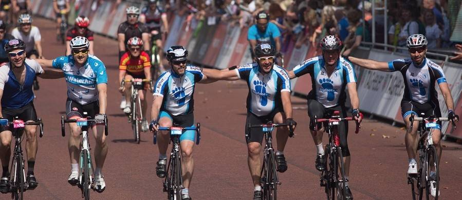 Julie rides Prudential Ride London 2017 | Sports Tours