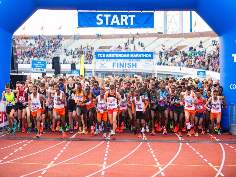 Wonderbaarlijk TCS Amsterdam Marathon 2020 | Sports Tours international TU-67