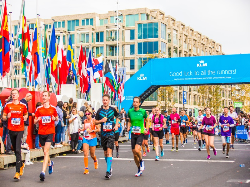 Hedendaags TCS Amsterdam Marathon 2020 | Sports Tours international JF-54
