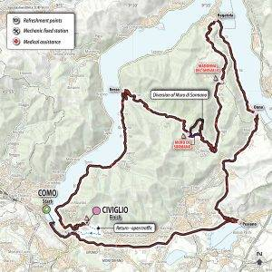 GF Lombardia 2018 route