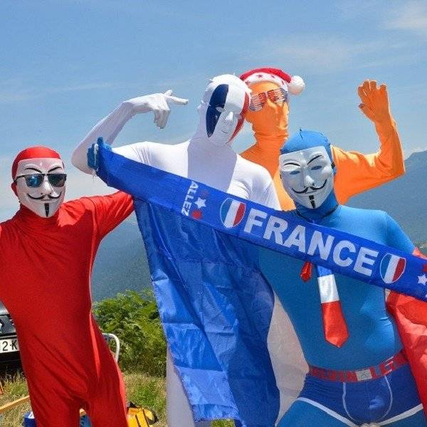 Tour de France Morphsuits