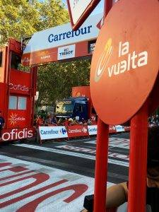 Vuelta finish