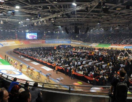 Berlin six day track cycling