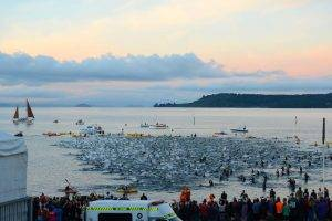 Ironman NZ swim